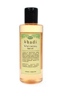 Khadi Herbal Vitalizing Hair Oil